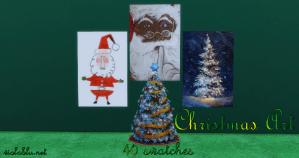 Christmas Art for Sims 4