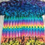 XL Purple Scrunch Tie Dye