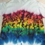 XL Rainbow Scrunch Tie Dye
