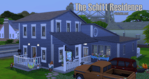 Jocelyn and Roland Schitt's House for The Sims 4
