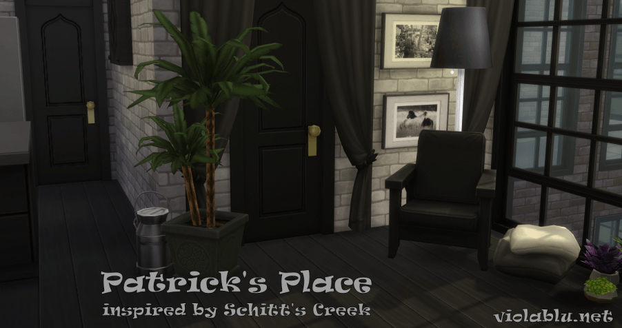 Patrick's Place Inspired by Schitt's Creek