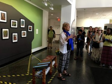 Speaker: Mary Harvey, Founder & Director of Violence Transformed at INSIDER/OUTSIDER NATION reception at Roxbury College's Resnikoff Gallery, Media Arts Center