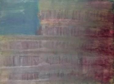 "Brad Chaffee, UNTITLED (CHARLOTTESVILLE), Acrylic on canvas, 16"" x 24"""
