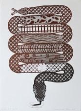 """Salvadore Jiménez-Flores, """"The Dance of the Serpent"""" / """"La danza de la serpiente,"""" 2018"""