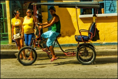 "Carlos Byron, ""The Tourists, Chinatown Havana,"" photography, 20"" x 13 1/4"", Summer 2017"