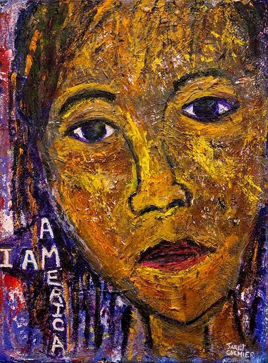 "Janet Cormier, ""I Am America"""