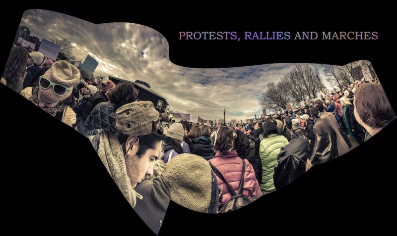 Walter Crump_Rallies_1_A PROTESTS, RALLIES & MARCHES Pan_COVID19 series