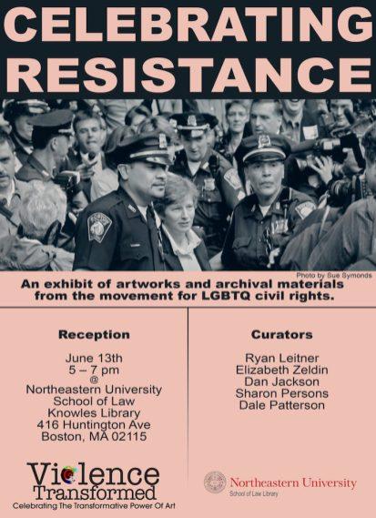 2018 Exhibition Poster, Northeastern University