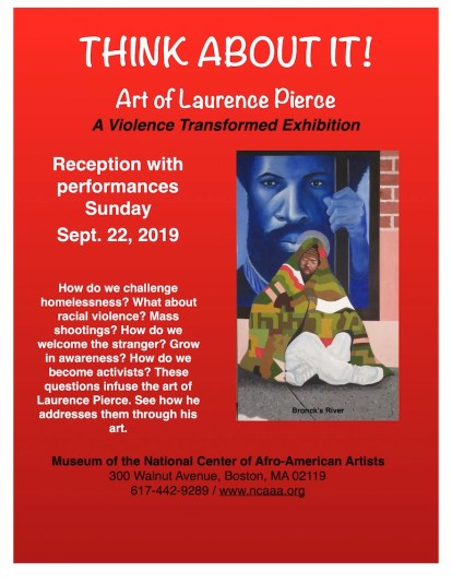 2019 Exhibition Poster, Museum of the National Center of Afro-American Artists