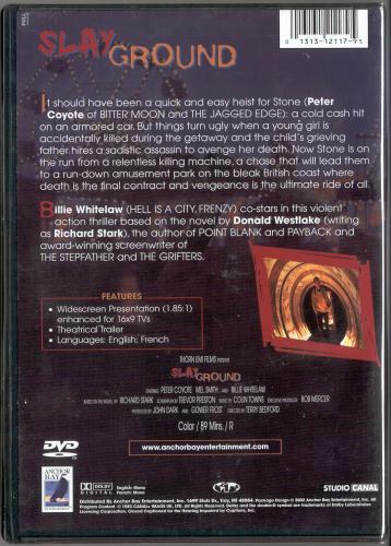 Anchor Bay Region 1 DVD back