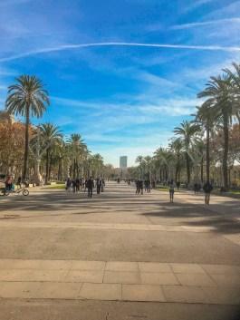 Entrance to Parc de la Ciutadella, Barcelona
