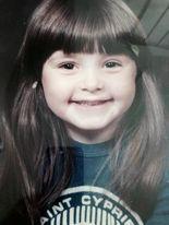 Rachel as a little girl