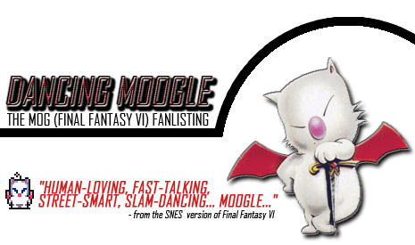 Dancing Moogle The Mog Final Fantasy VI Fanlisting