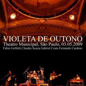 voiceprint - vpb132dvd_violeta de outono - teatro municipal 2009 - frente