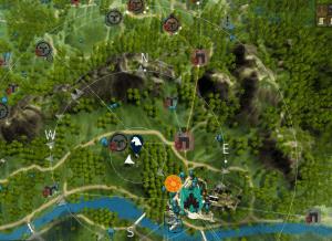 BDO Hill Northwest of Heidel Horse Map