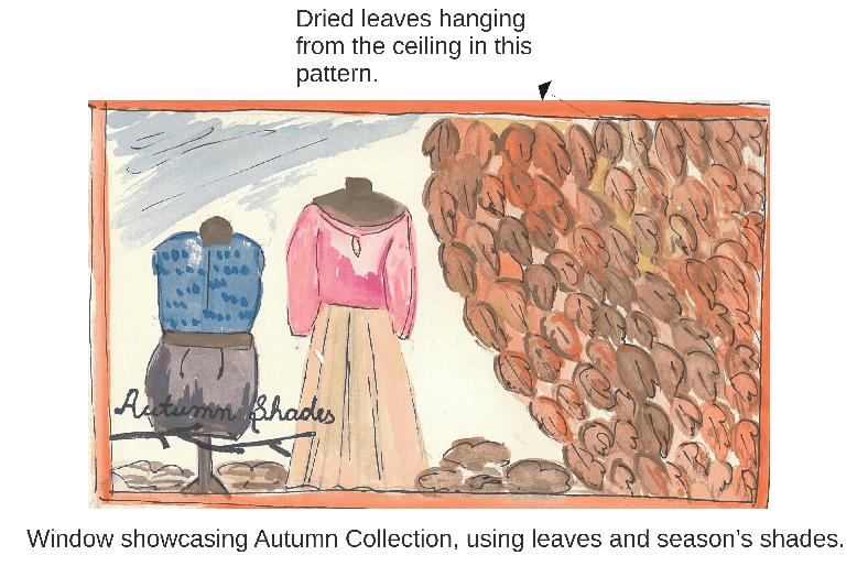 Few Illustrated Window Display Ideas (2/3)