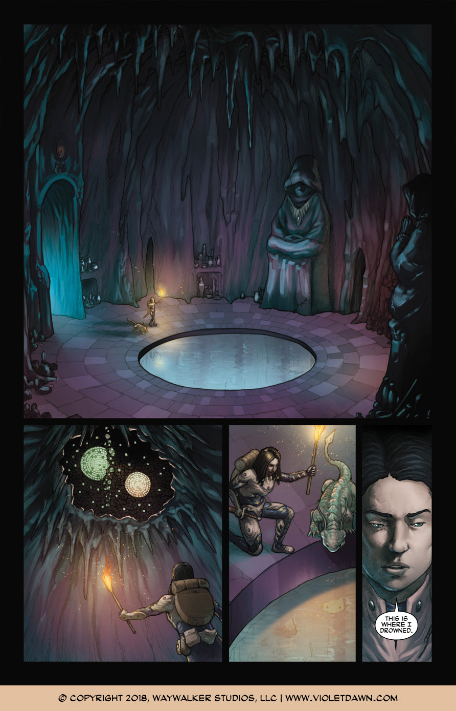 Violet Dawn: Exile – Issue 2, Page 2