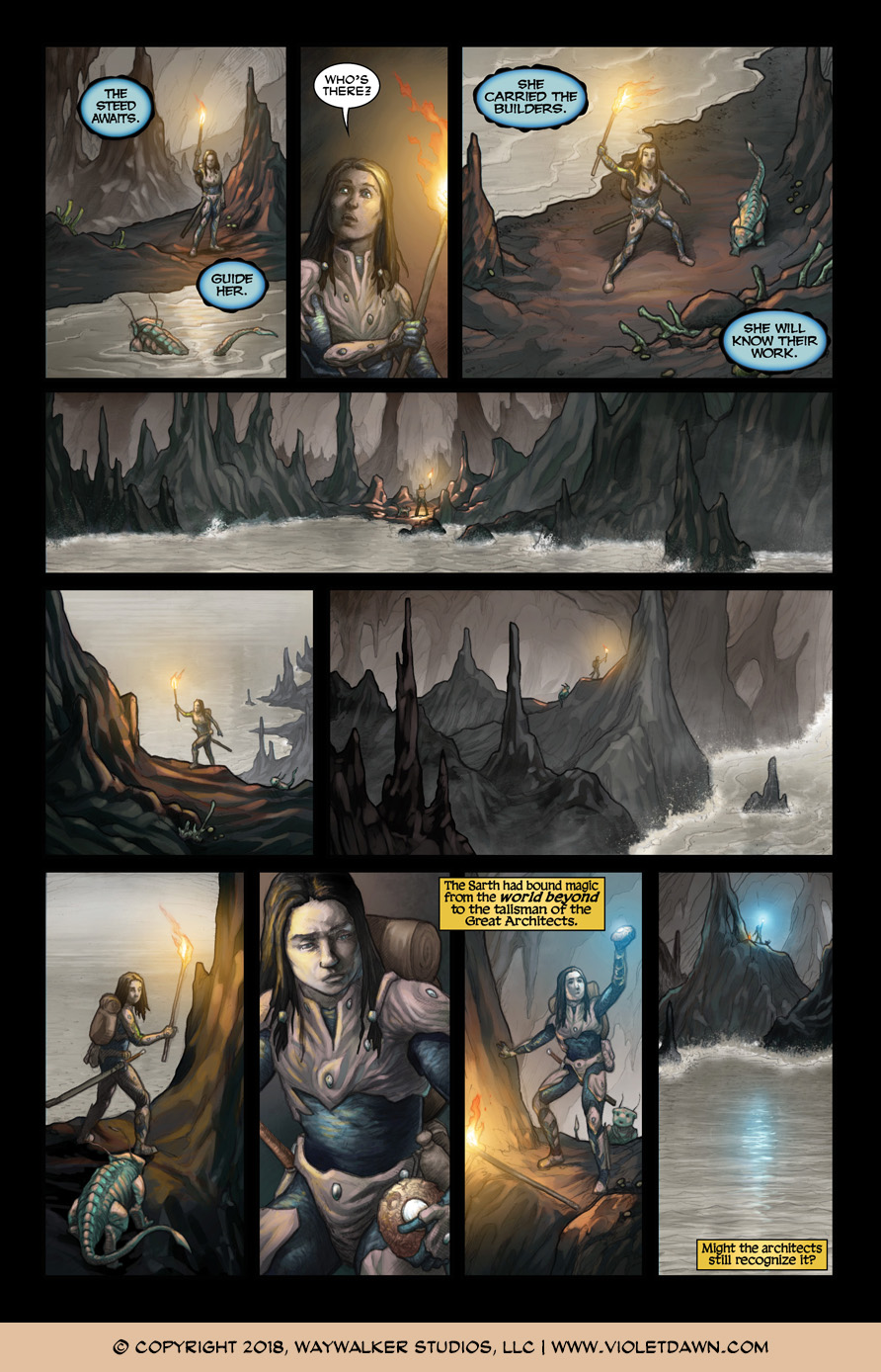 Violet Dawn: Exile – Issue 2, Page 5