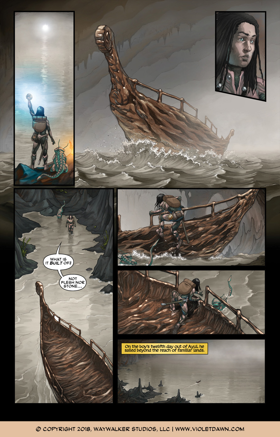 Violet Dawn: Exile – Issue 2, Page 6