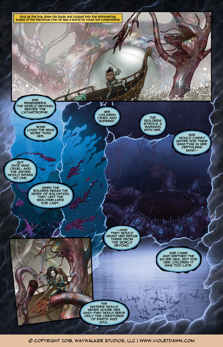 Violet Dawn: Exile – Issue 2, Page 9