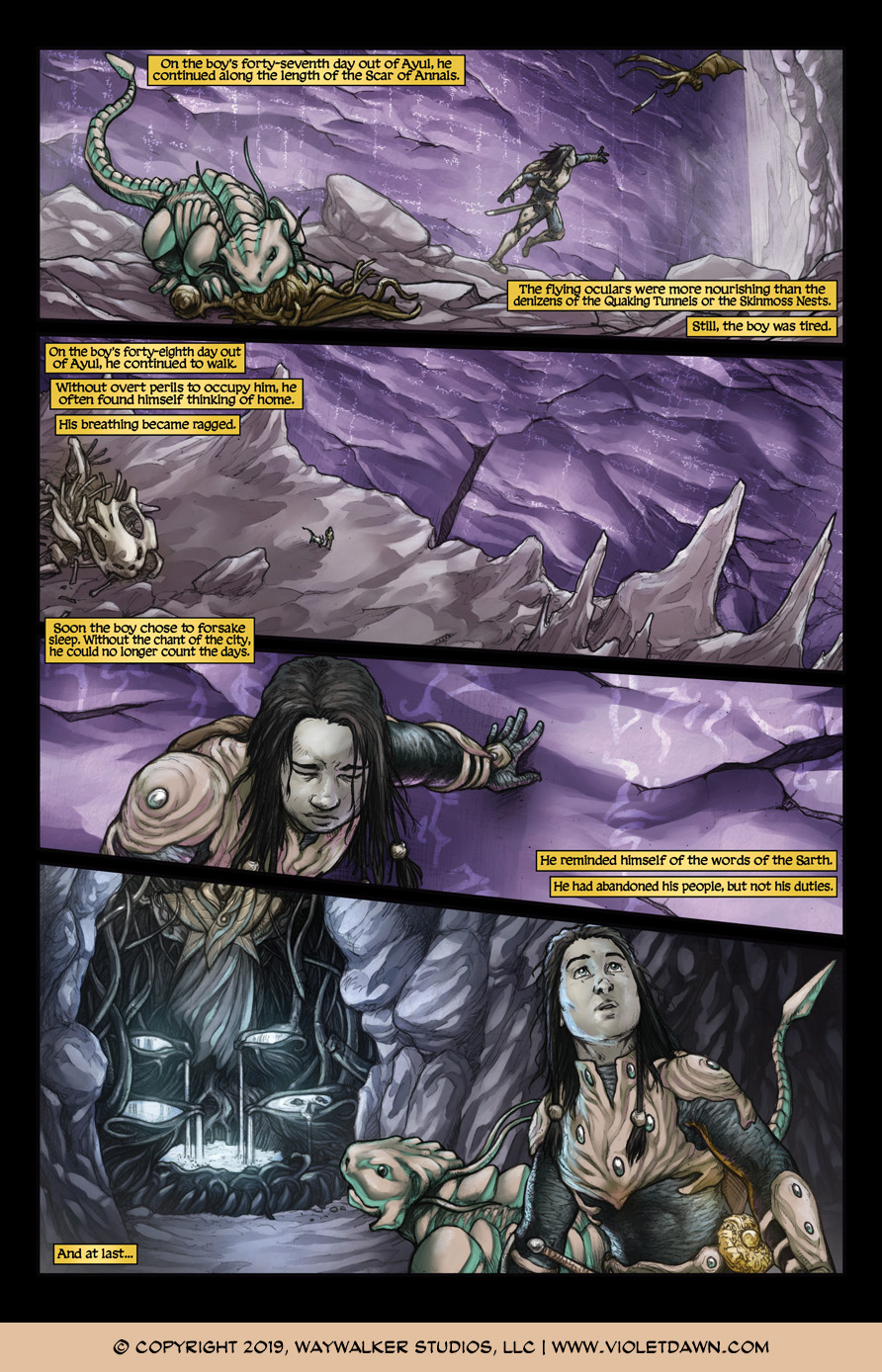 Violet Dawn: Exile – Issue 5, Page 6