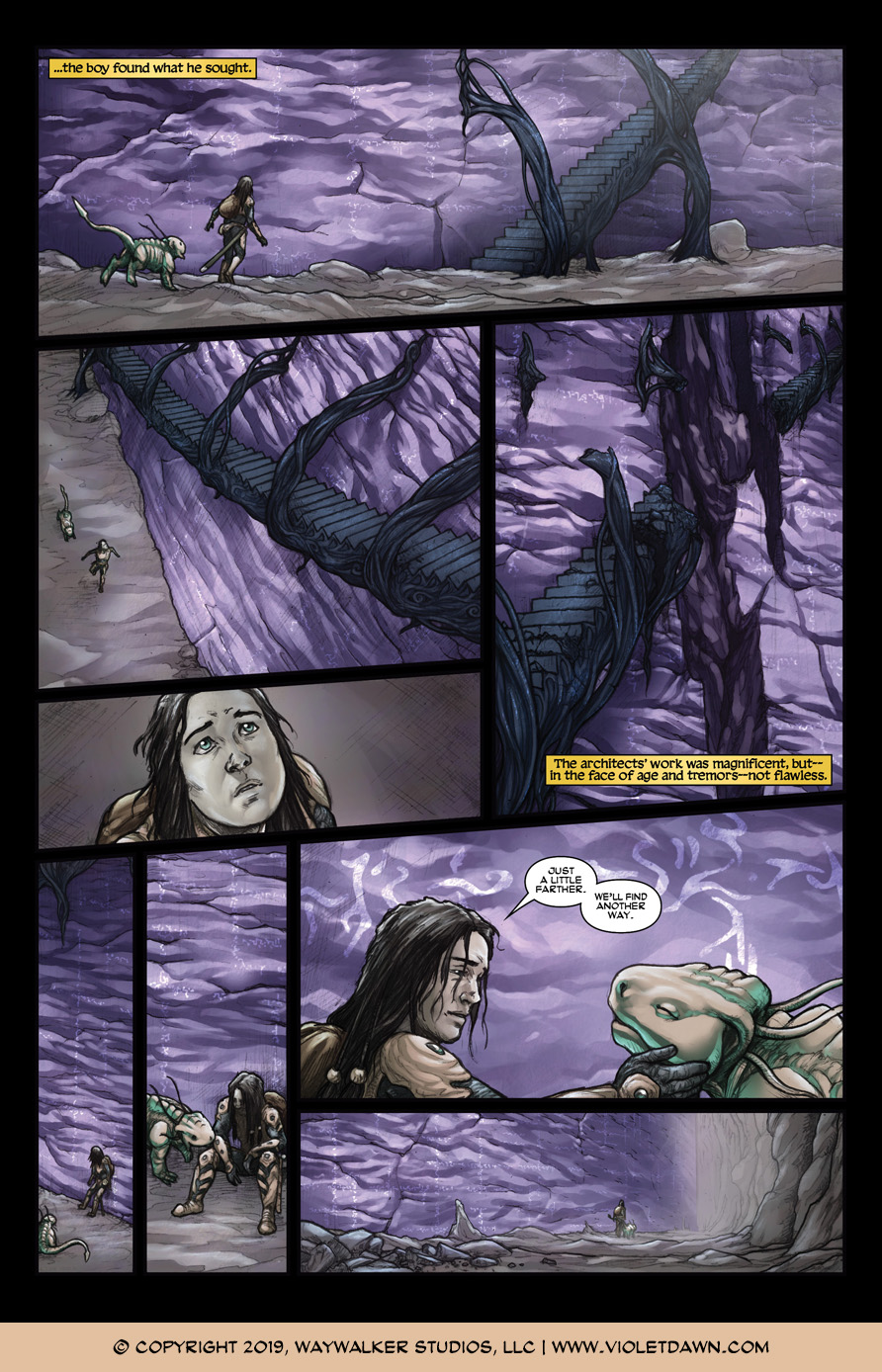 Violet Dawn: Exile – Issue 5, Page 7