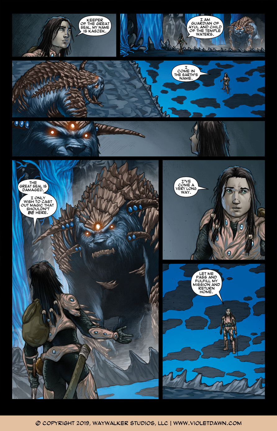 Violet Dawn: Exile – Issue 6, Page 2