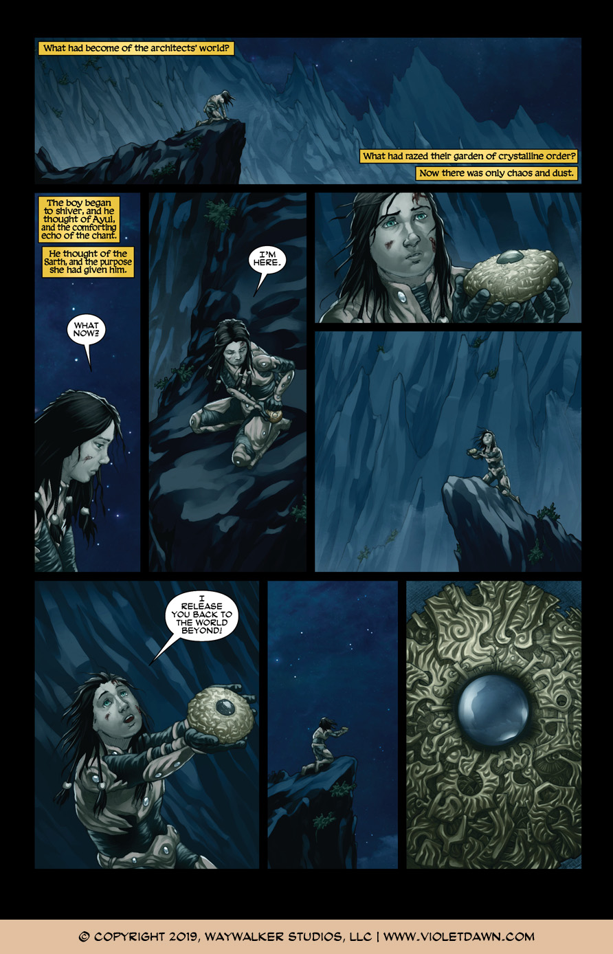 Violet Dawn: Exile – Issue 7, Page 4