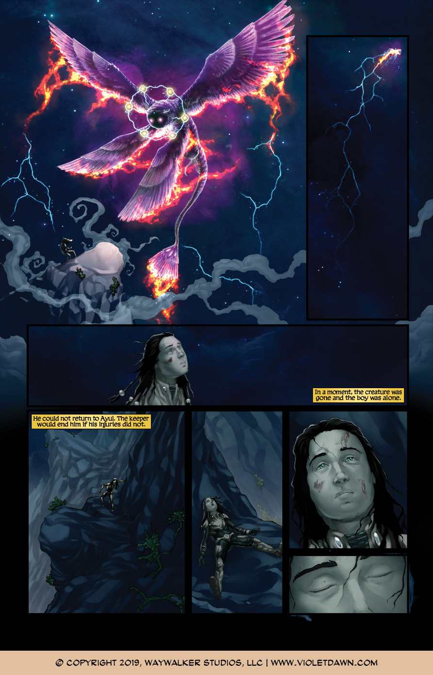 Violet Dawn: Exile – Issue 7, Page 10