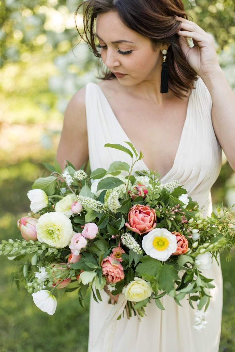 Baltimore Wedding Florist, eco-friendly florist Baltimore, Spring Wedding Flowers in Maryland