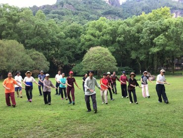 Guolin Qigong Training in China