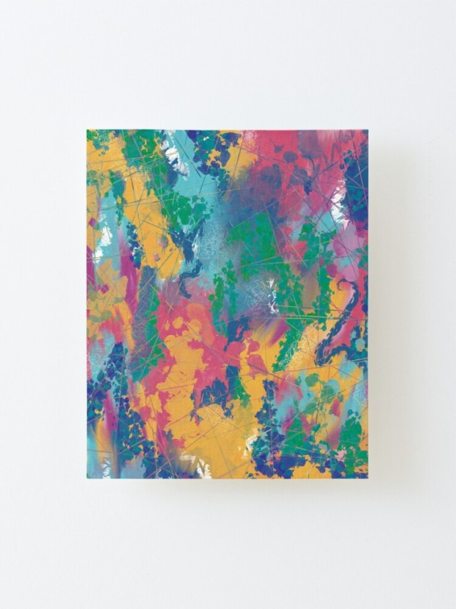 Shop Violet Roots - Abstract Painting - Get Loud