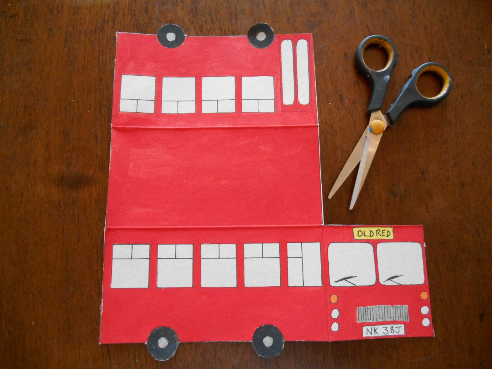 Make A Bus Like The Andersons Old Red