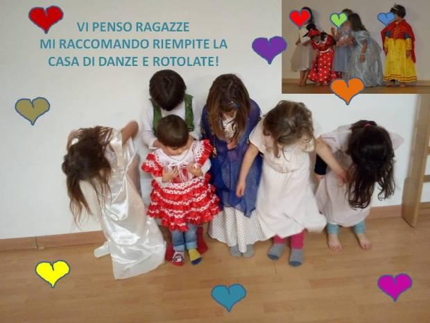 saluti danza