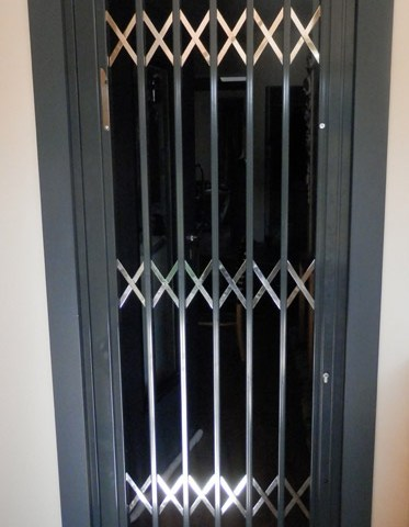 Folding stainless steel aluminum coated safety Type-120 ΙΝΟΧ 3