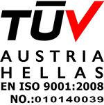 Πτυσσόμενη ασφάλεια γαλβανισμένου χάλυβα με επικάλυψη αλουμινίου - Τ 100
