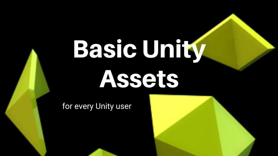 Basic unity assets