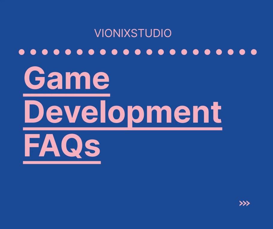 Game development Faq