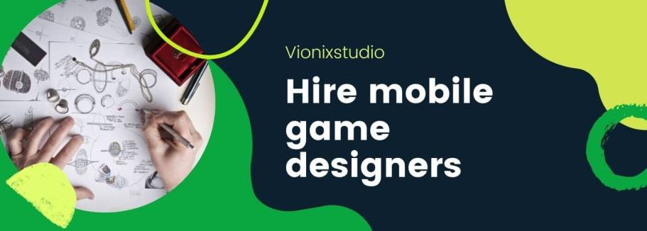 Hire mobile game designers cover photo