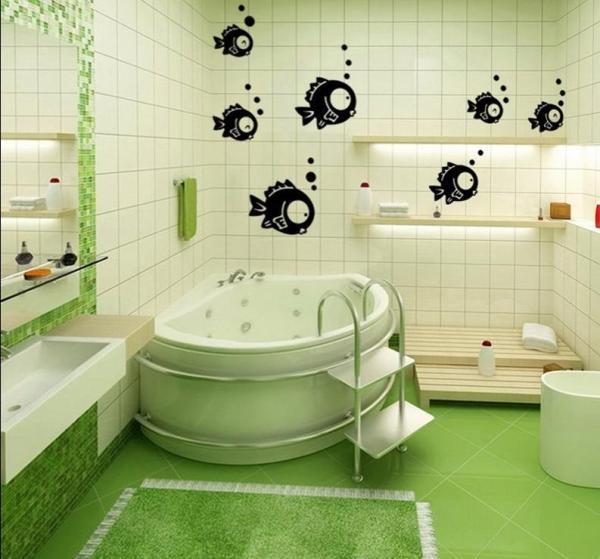 Декор ванной комнаты своими руками фото » Современный ...