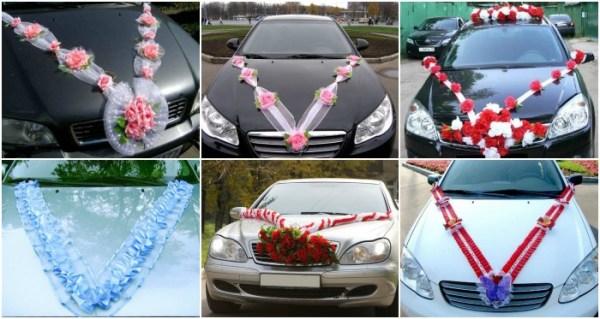 Свадебное украшение авто своими руками » Современный ...