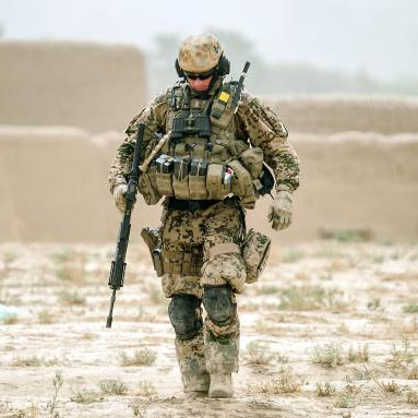 US military officer