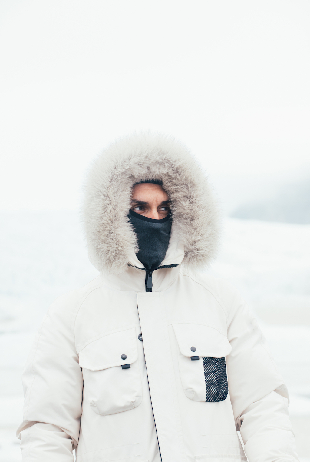Travel Images - Man Cold in Iceland