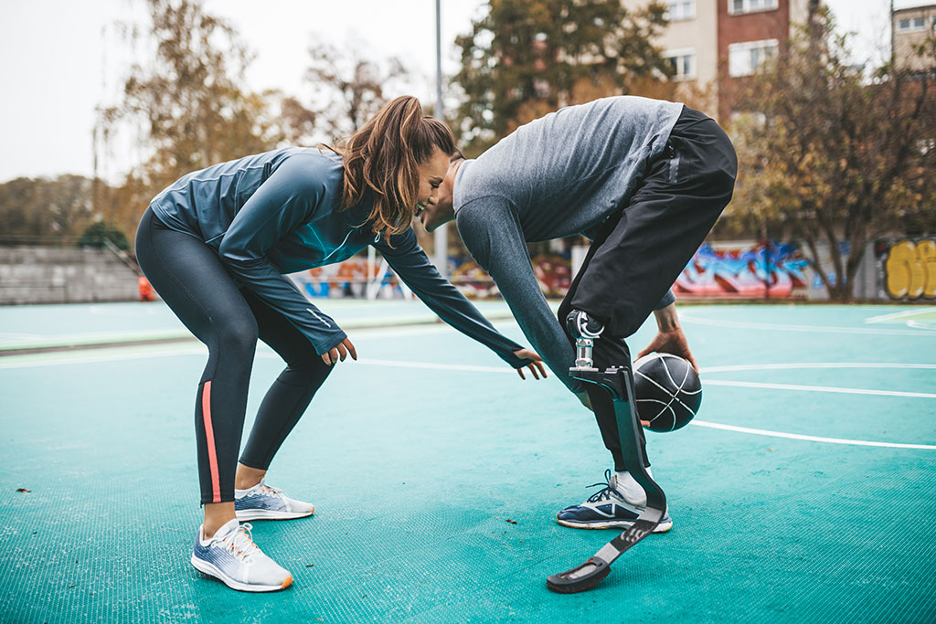 Most Popular Stock Photo Ideas - Couple Playing Basketball
