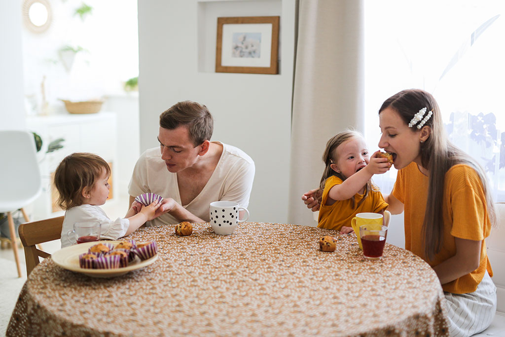 Most Popular Stock Photo Ideas - Eating Breakfast Together