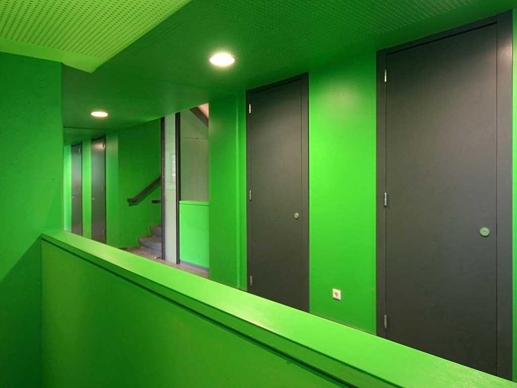 Student Building Interior