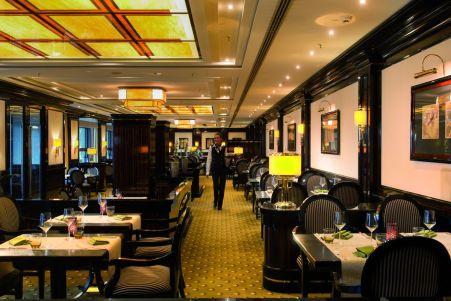 """Exklusiv und elegant zugleich: Im Restaurant """"M"""" läßt es sich gut speisen"""