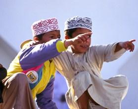 Kinder in der Hauptstadt Maskat. Foto Copyright: Ministry of Tourism, Sultanate of Oman
