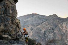 Bergsteiger-Erfahrungen nützen dem Läufer beim härtesten Rennen der Welt. Foto Copyright: omanbyutmb.com, Sultanate of Oman