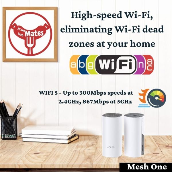 Home Wifi Replacement Mesh one 2 units Package Your IT and Tech Mates
